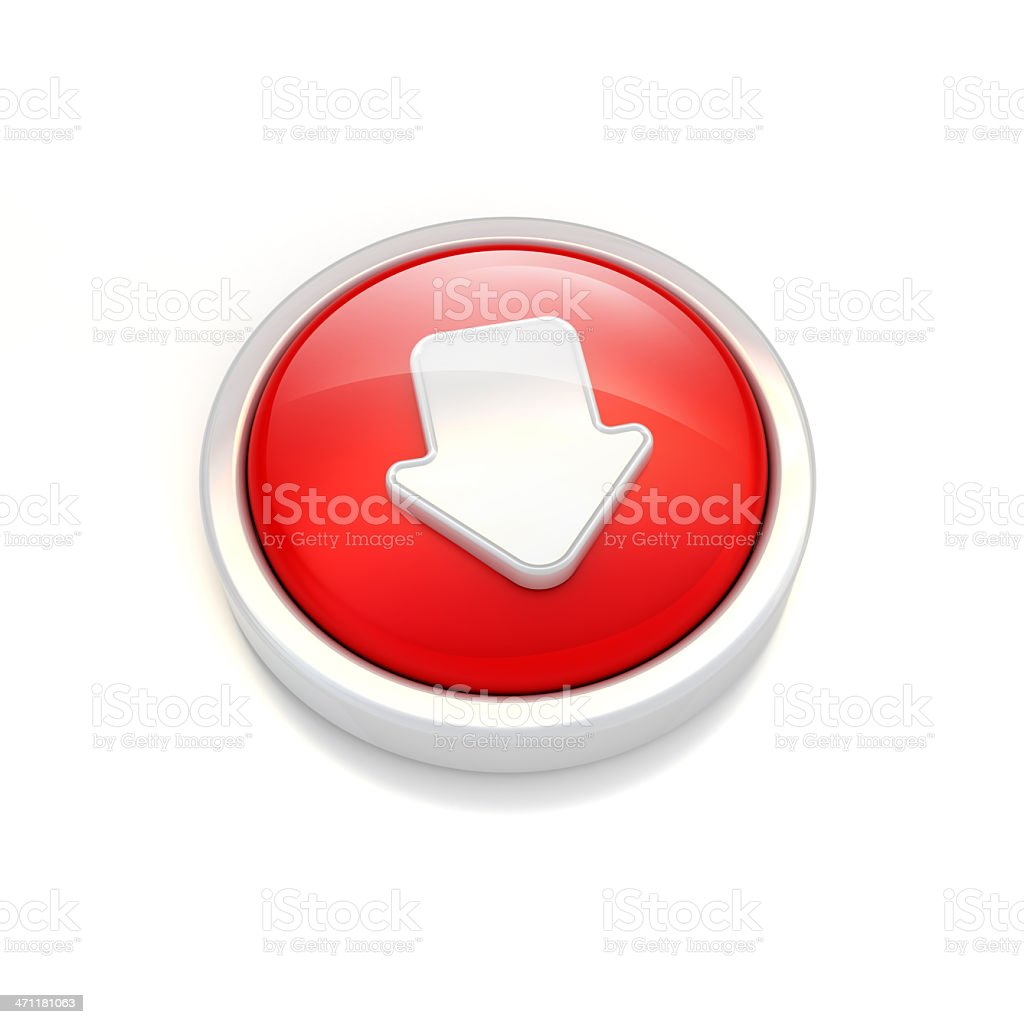 downloading or down arrow icon.. royalty-free stock photo