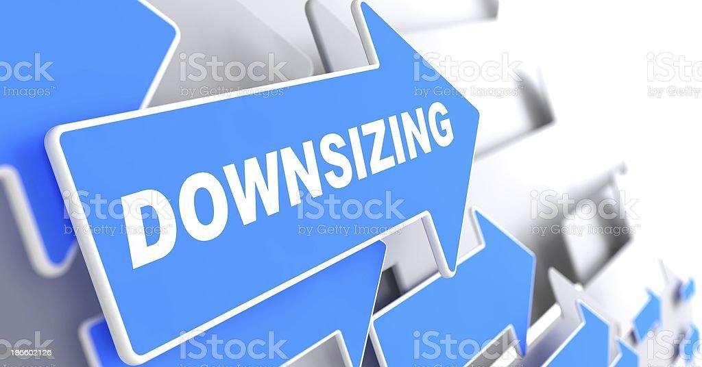 Downsizing. Business Background. royalty-free stock photo