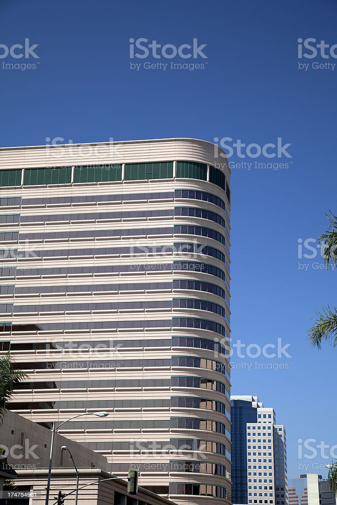 Downtown Apartment and Office Building royalty-free stock photo