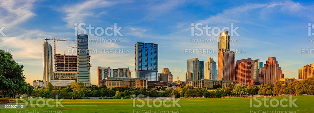 Downtown Austin Cityscape stock photo