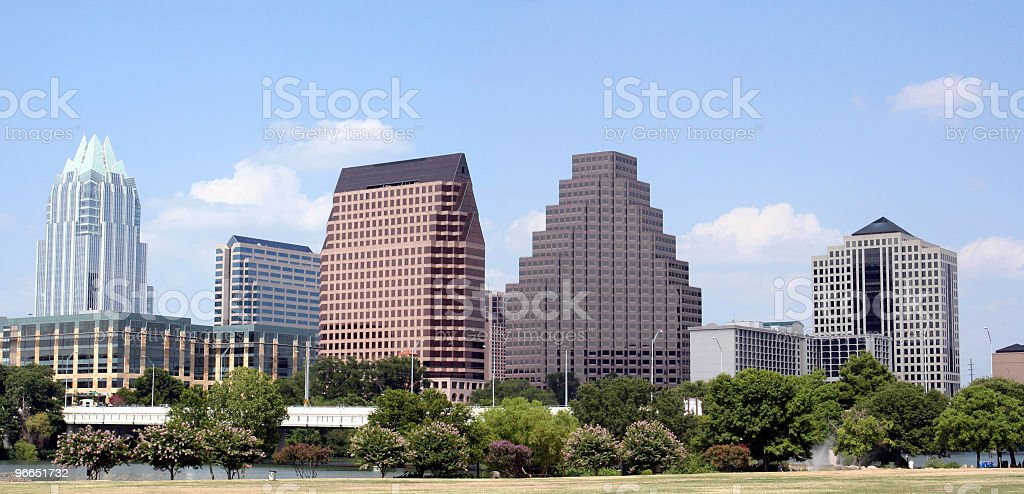 Downtown Austin, Texas royalty-free stock photo