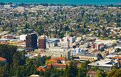 Downtown Berkeley aerial