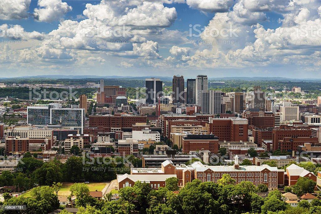 Downtown Birmingham, Alabama stock photo