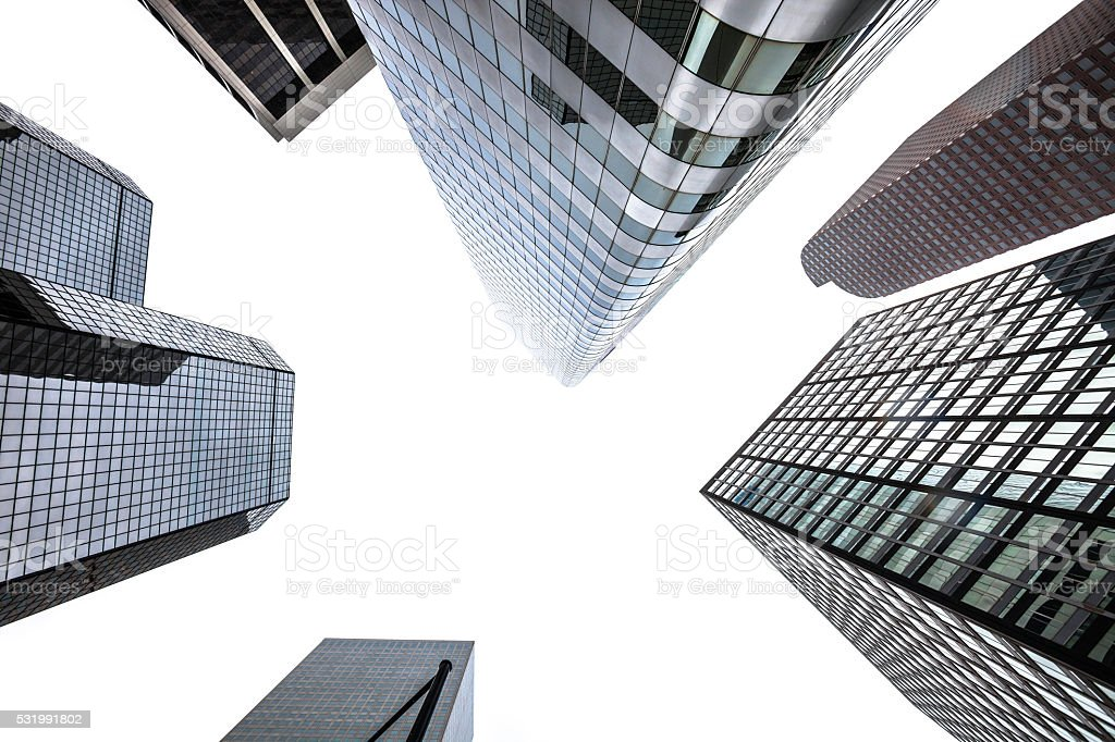 Downtown buildings - Denver, Colorado. stock photo