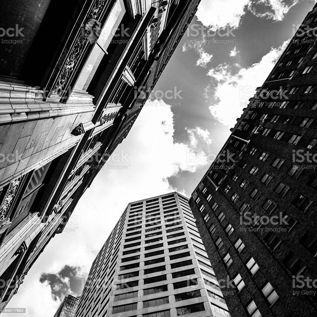 Downtown buildings St Louis, Missouri. stock photo