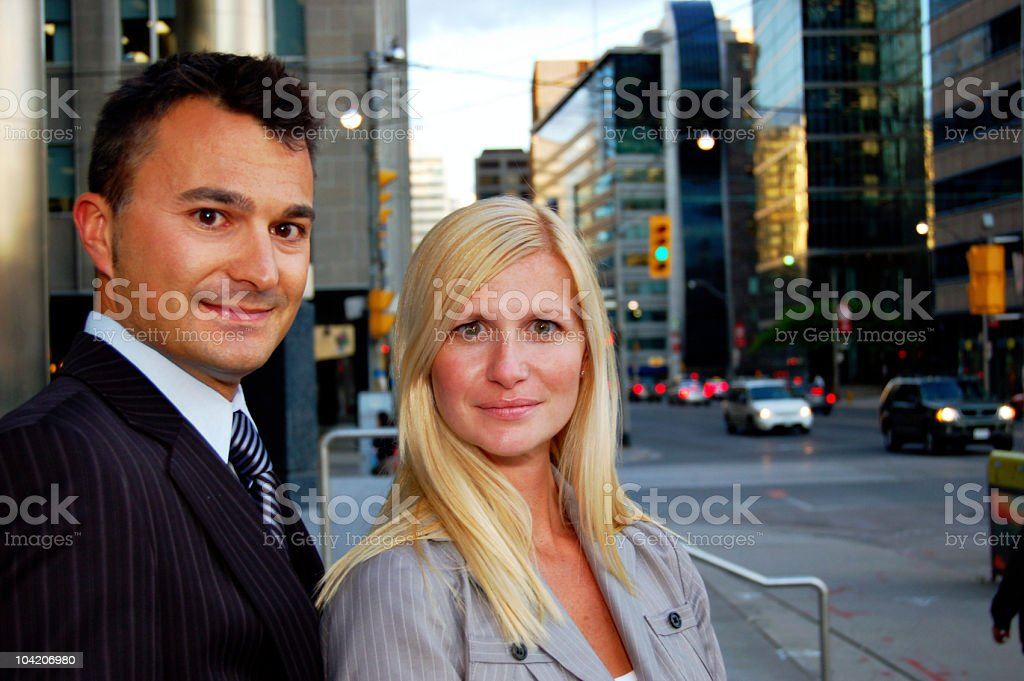 Downtown Business royalty-free stock photo