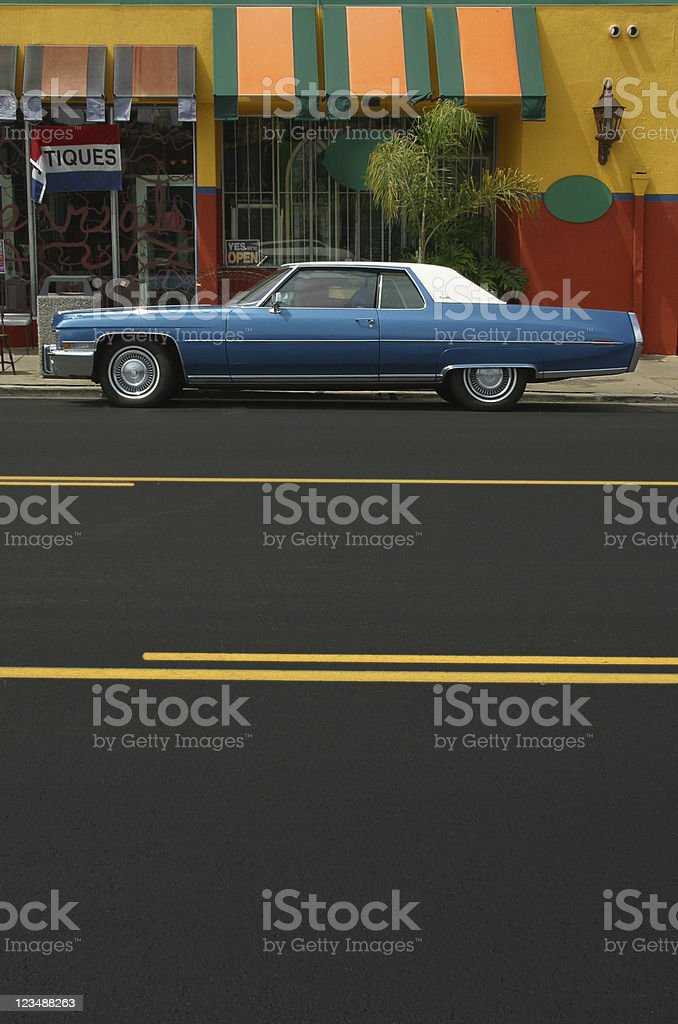 downtown caddy royalty-free stock photo