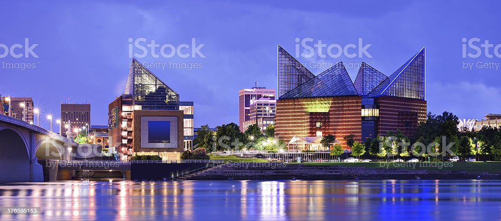 Downtown Chattanooga stock photo
