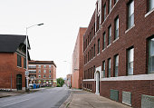 Downtown Chattanooga Tennessee Brick Buildings Southern Architecture USA