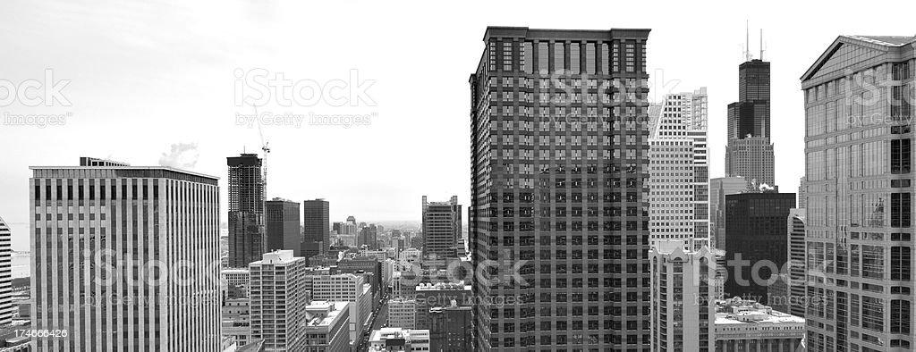 Downtown Chicago Aerial (XXXL) royalty-free stock photo