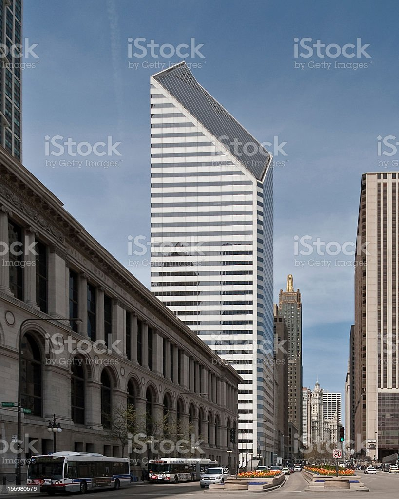 Downtown Chicago Views stock photo