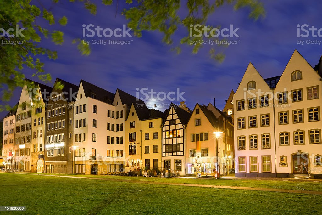 Downtown Cologne Germany stock photo