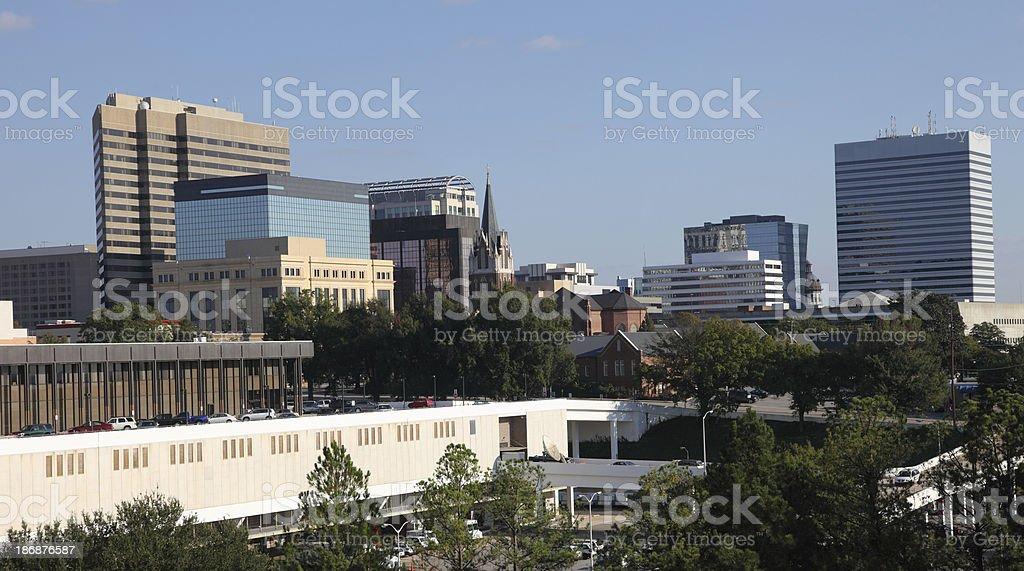 Downtown Columbia royalty-free stock photo