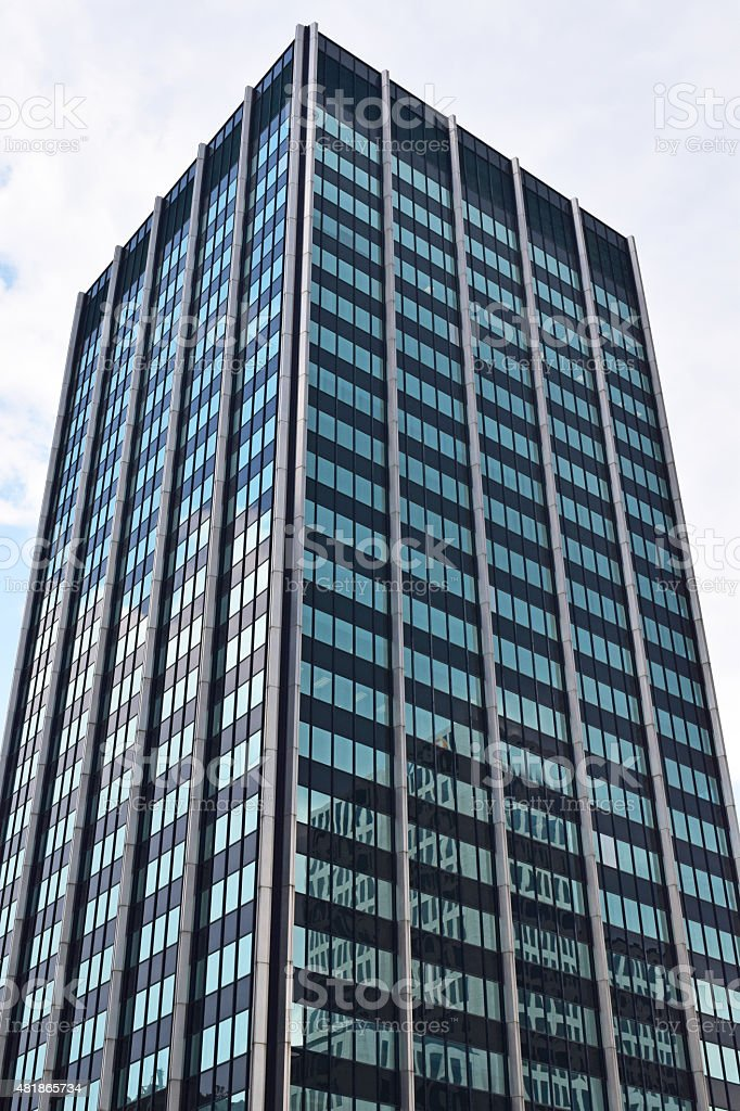 Downtown Columbus Ohio Building stock photo