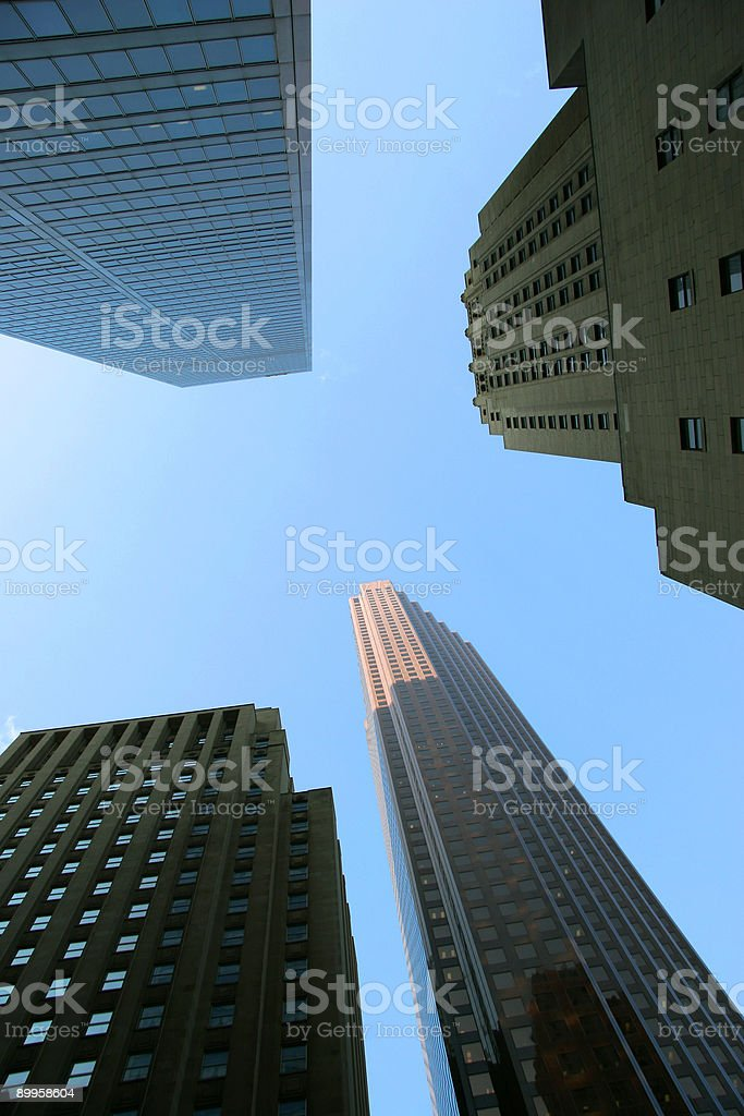Downtown core royalty-free stock photo