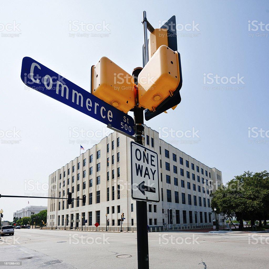 Downtown Dallas royalty-free stock photo