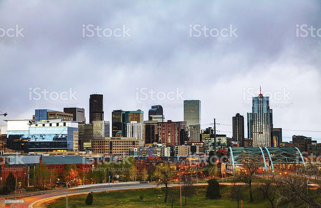 Downtown Denver, Colorado stock photo