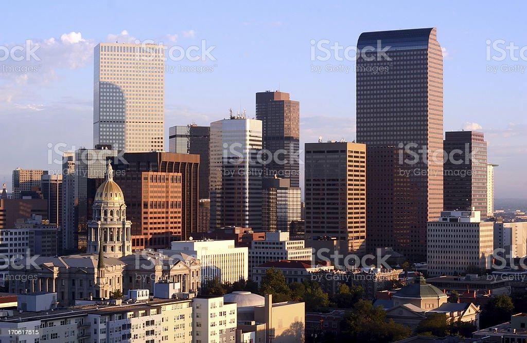 Downtown Denver stock photo