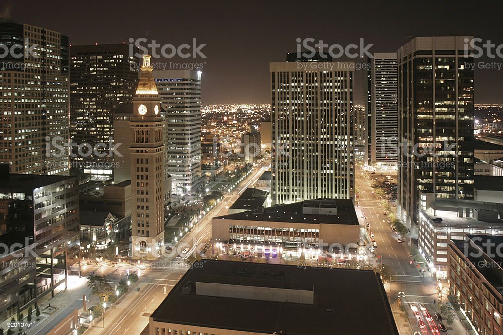 Downtown Denver stock photo