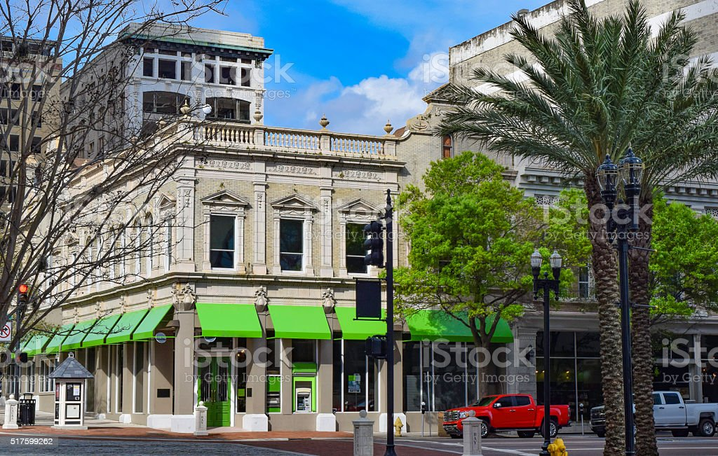 Downtown District - Jacksonville, Florida stock photo