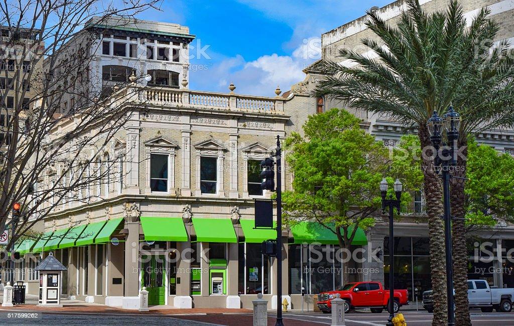 Downtown District - Jacksonville, Florida stock photo