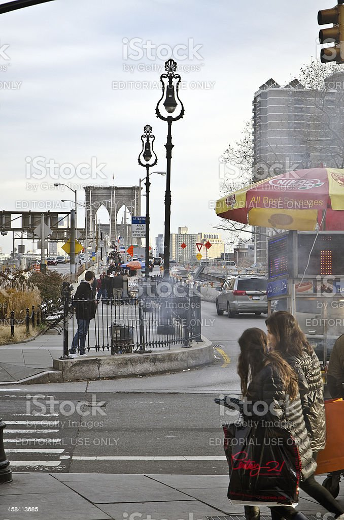 Downtown district, Manhattan royalty-free stock photo