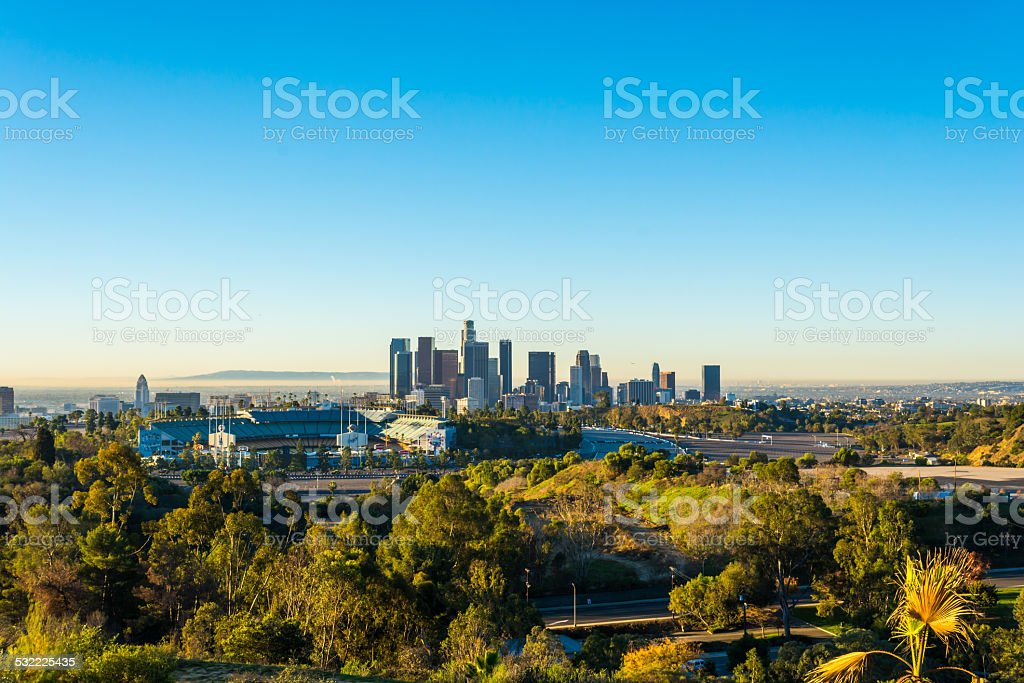 Downtown Dodgers 2 stock photo