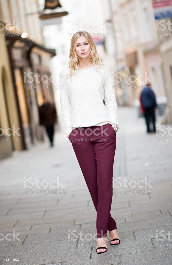 Downtown Fashion stock photo