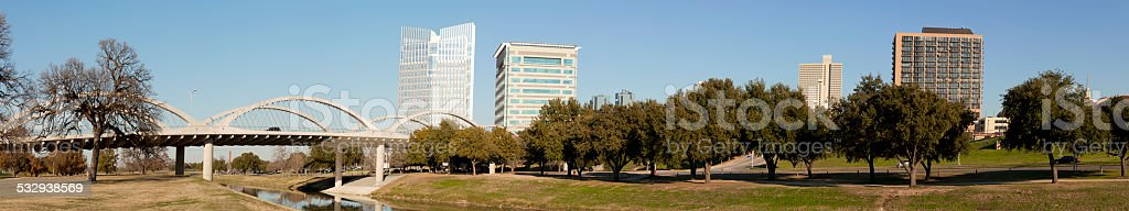 Downtown Ft Worth, Texas stock photo