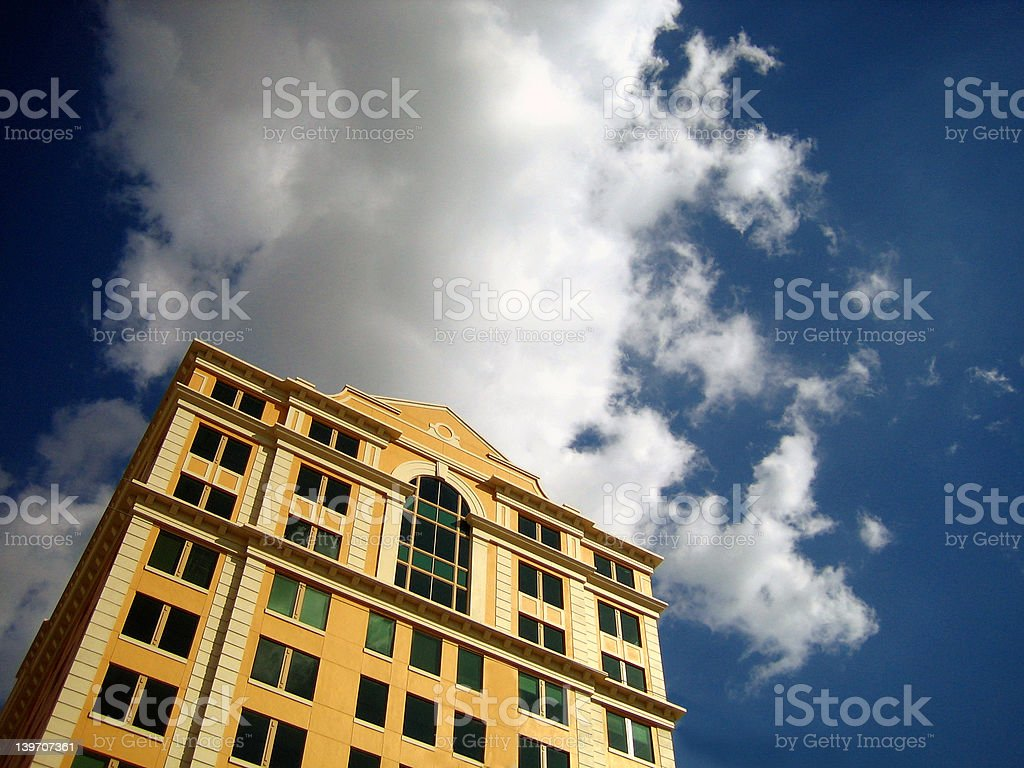 Downtown Gables stock photo