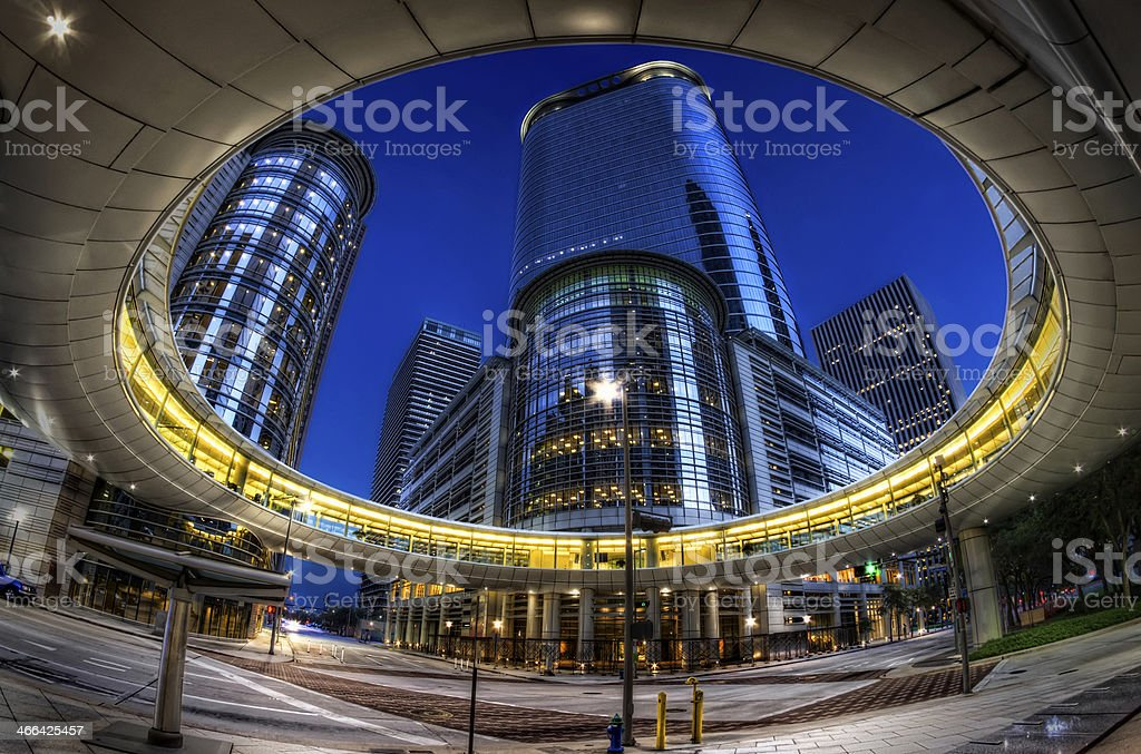 Downtown Houston stock photo