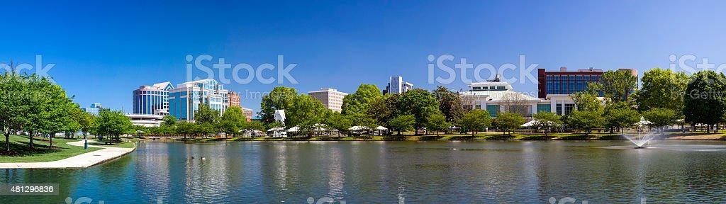 Downtown Huntsville, Alabama stock photo