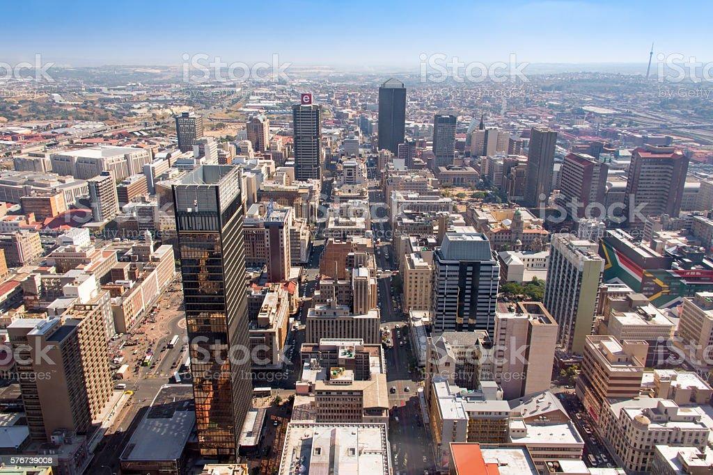 Downtown Johannesburg stock photo