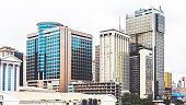 Downtown Lagos, Nigeria.