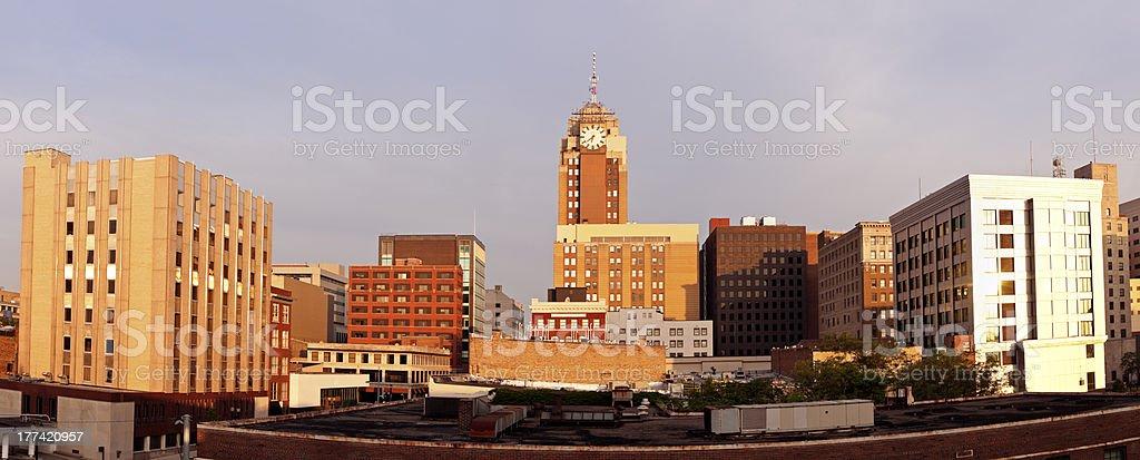Downtown Lansing stock photo