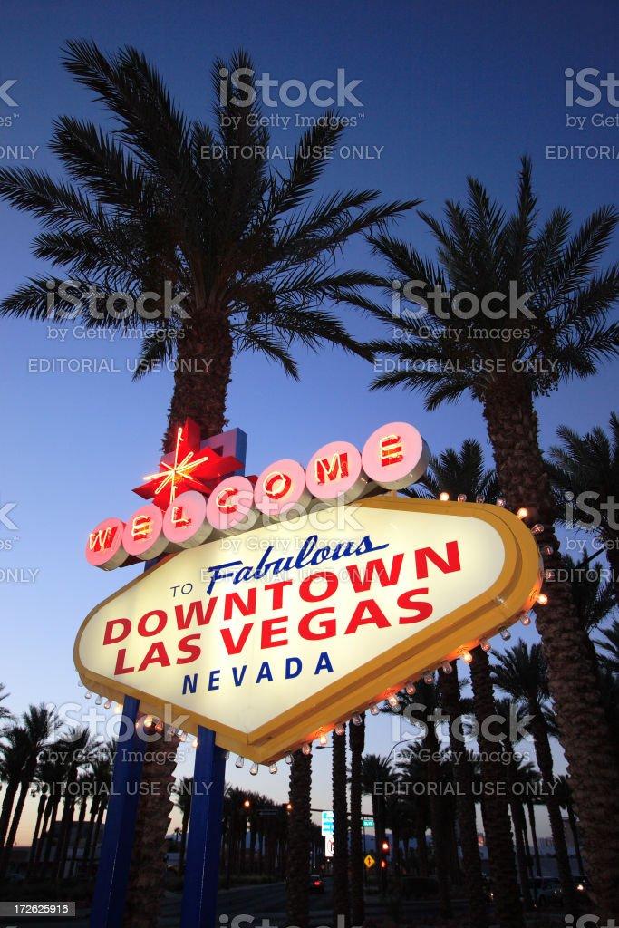 Downtown Las Vegas Baby (Angle 2) stock photo