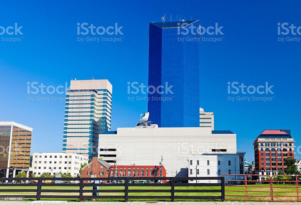 Downtown Lexington, Kentucky stock photo