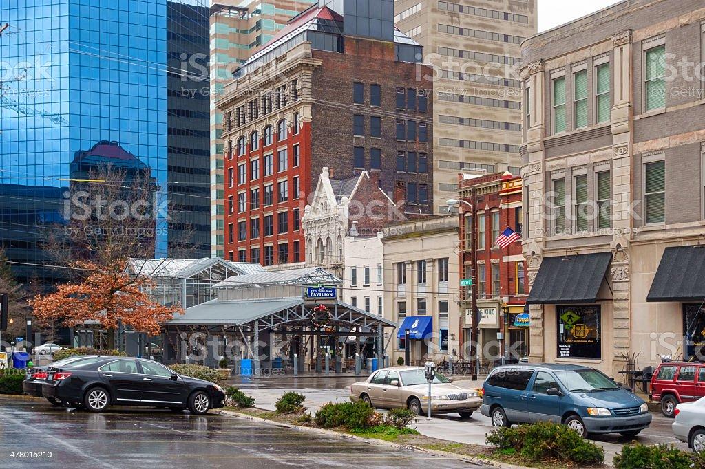 Downtown Lexington Kentucky USA stock photo
