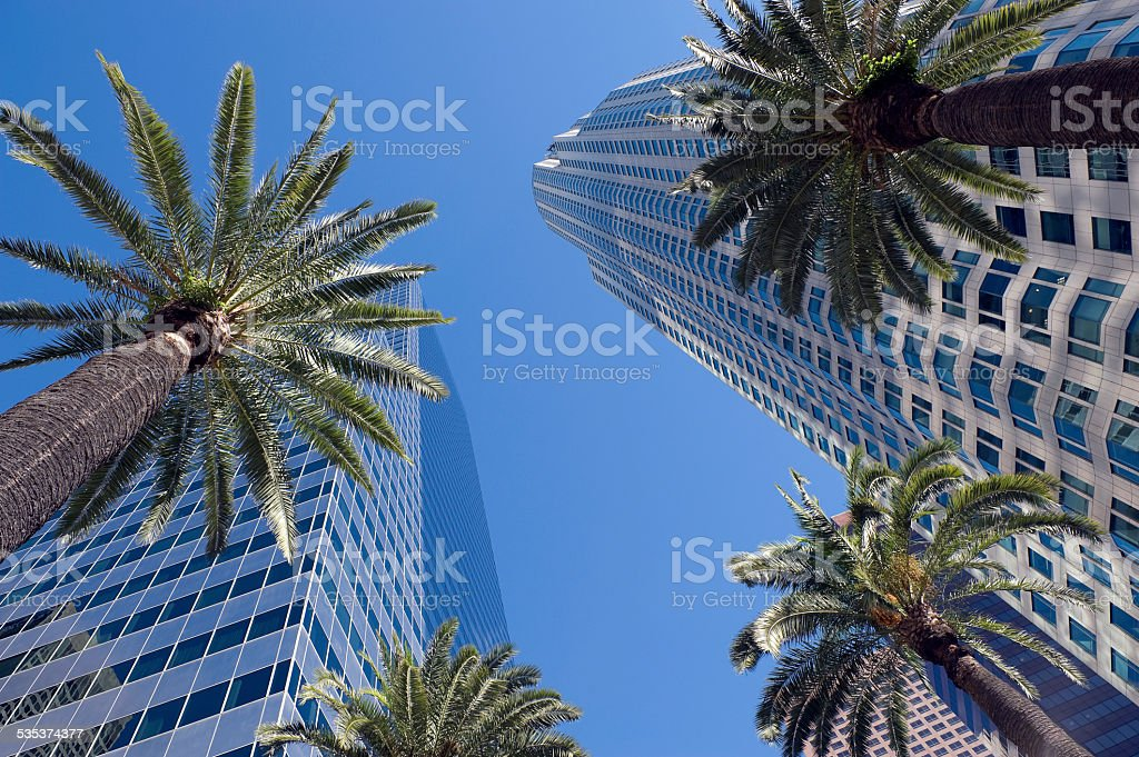 Downtown Los Angeles, CA stock photo