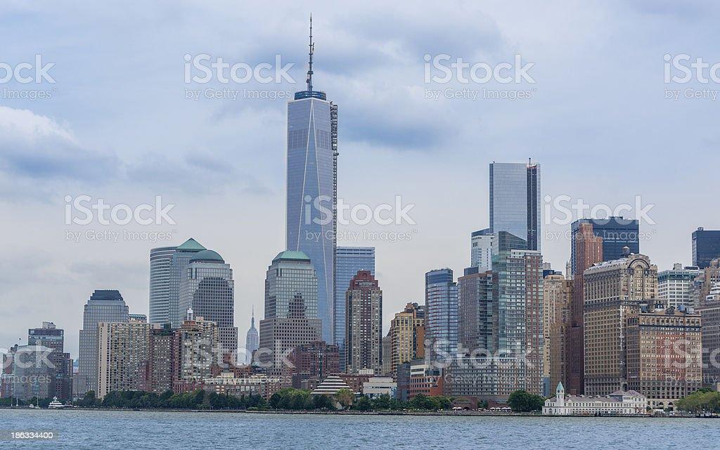 Downtown Manhattan, New York royalty-free stock photo