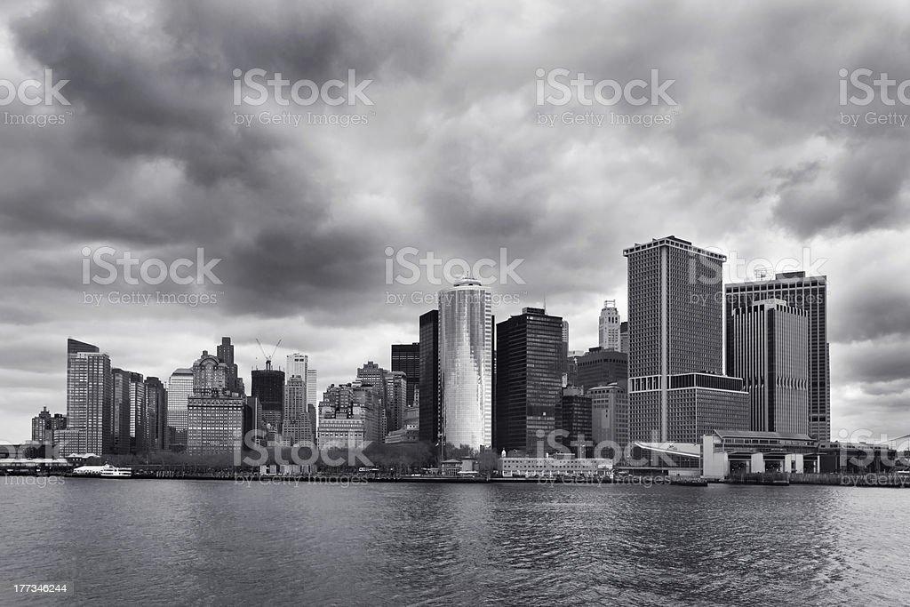 Innenstadt von Manhattan Lizenzfreies stock-foto
