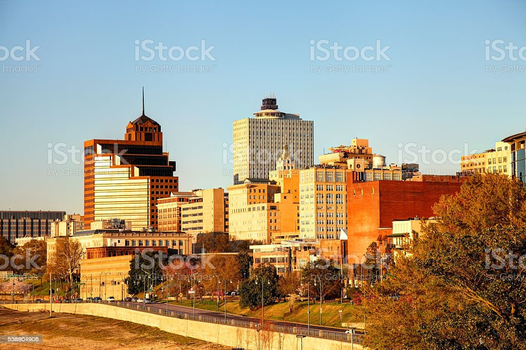 Downtown Memphis,Tennessee stock photo