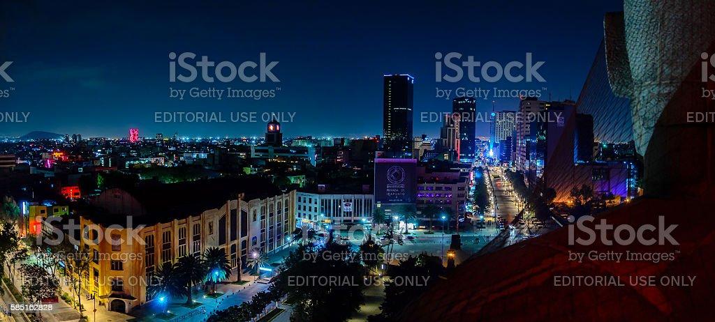 Downtown Mexico City skyline stock photo