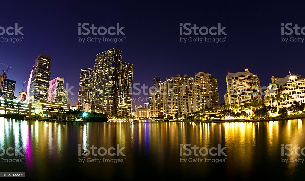 Downtown Miami, Florida stock photo