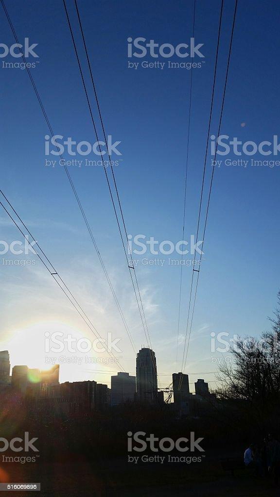 Downtown Minneapolis stock photo