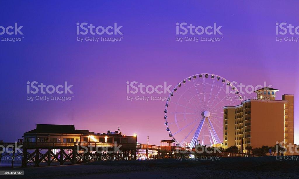 Downtown Myrtle Beach Coast stock photo