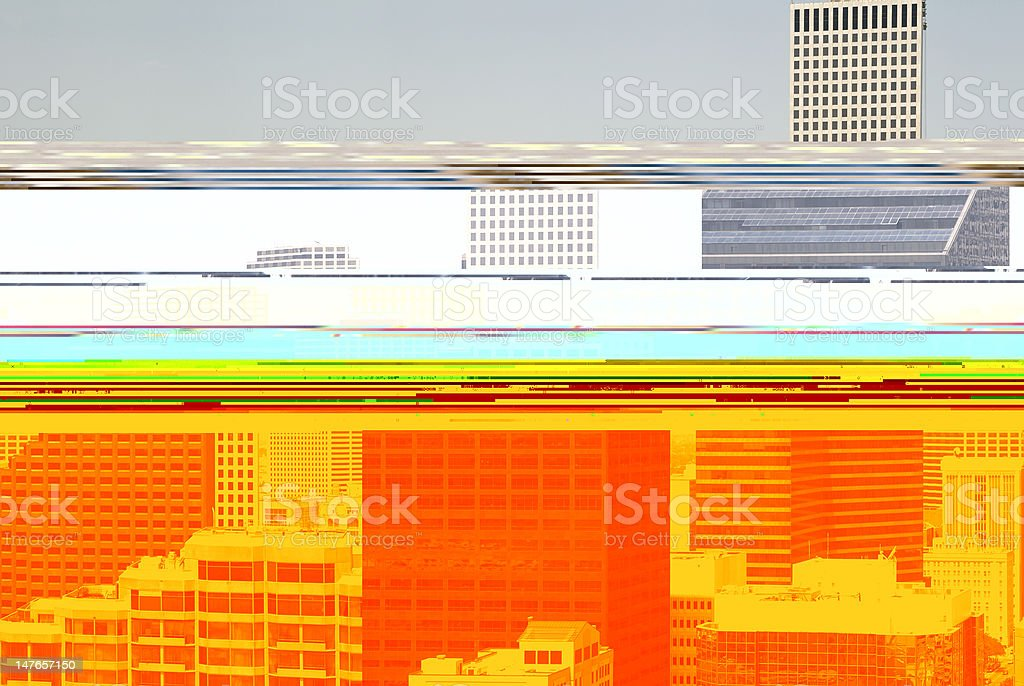 Downtown New Orleans royalty-free stock photo