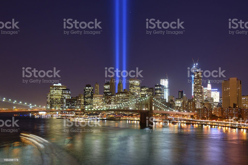 Downtown New York City stock photo