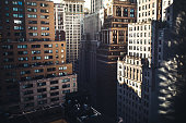 Downtown New York Cityscape