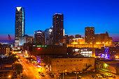 Downtown Oklahoma City, Oklahoma